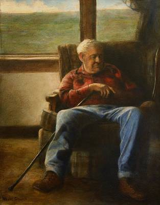 Painting - My Father by Wayne Daniels