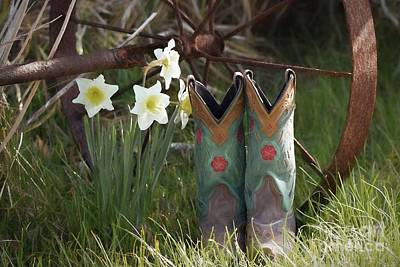 Photograph - My Favorite Boots by Benanne Stiens