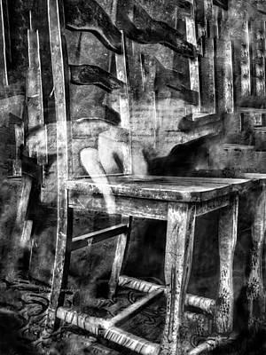 Digital Art - My Favorite Chair 2 by Delight Worthyn