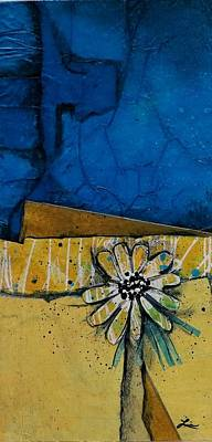 Landscape Mixed Media - My Favorite Flower by Laura Lein-Svencner