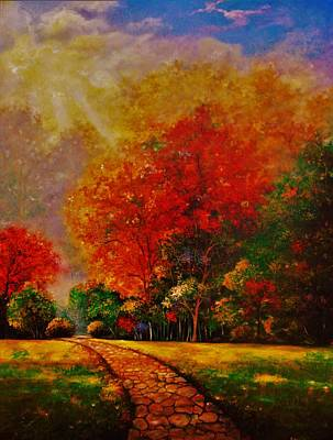 Painting - My Favorite Park by Emery Franklin