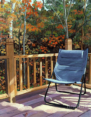 Painting - My Favorite Spot by Lynne Reichhart
