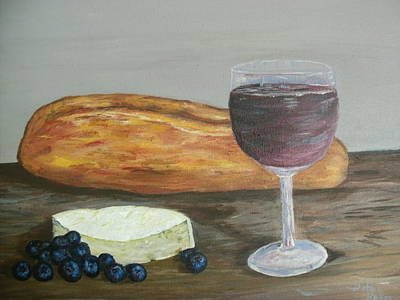 Painting - My Favorite Things by Debbie Baker