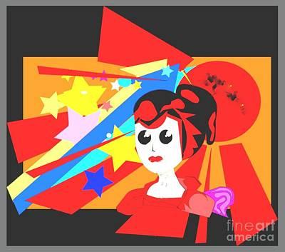 Jenna Thomas Wall Art - Drawing - My Favorites by Jenna Thomas