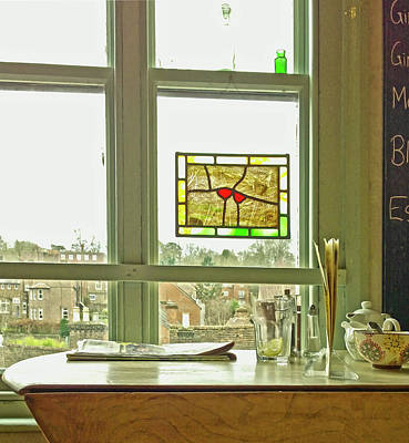 Photograph - My Favourite Cafe by Anne Kotan