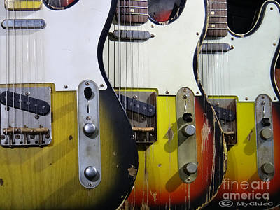 My Fender Telecaster Art Print by Art by MyChicC