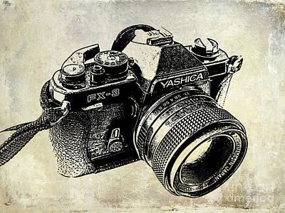 35mm Photograph - My First Camera by Jon Neidert