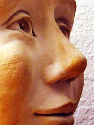 Sculpture - My First Sculpture by Barbara J Blaisdell