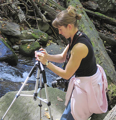 Photograph - My First Time Ever Using A Tripod by Amber Kresge