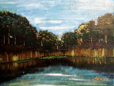My Fishing Hole Art Print
