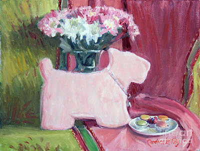 Table Cloth Painting - My Flat In Paris by Candace Lovely
