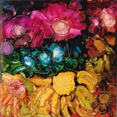 Painting - My Flower Garden by Suzanne Canner