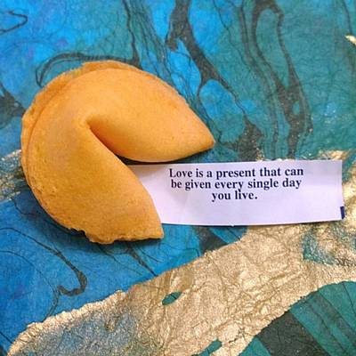 Foodie Photograph - My #fortune For Today :-)