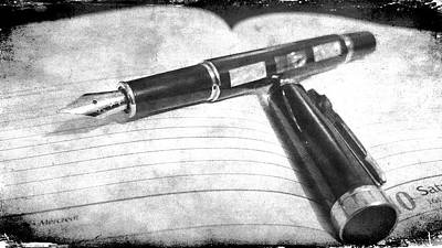 Photograph - My Fountain Pen by Martina Fagan
