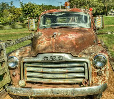 Photograph - My Friday Night Date Truck by Douglas Barnett