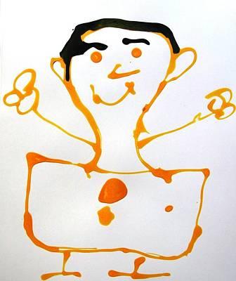 My Friend Art Print by Nanak Chadha