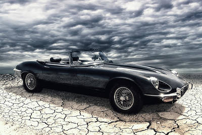 Composing Photograph - my friend the Jag by Joachim G Pinkawa