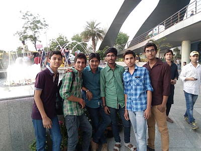 Photograph - My Friends  by Madhusudan Bishnoi