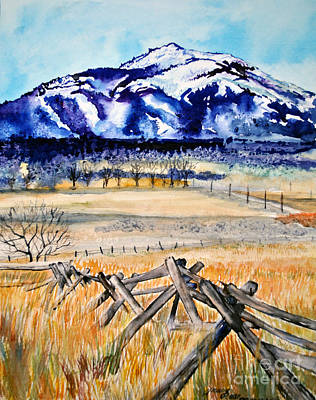 Painting - My Front Yard View by Tracy Rose Moyers
