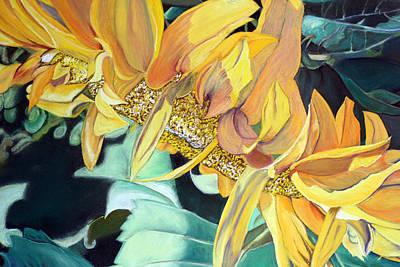 Painting - My Garden by Nila Jane Autry