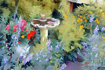 Photograph - My Garden by Jodie Marie Anne Richardson Traugott          aka jm-ART