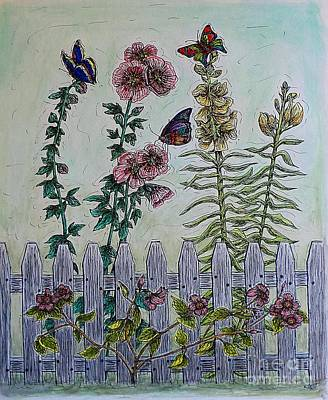 Painting - My Garden by Kim Jones