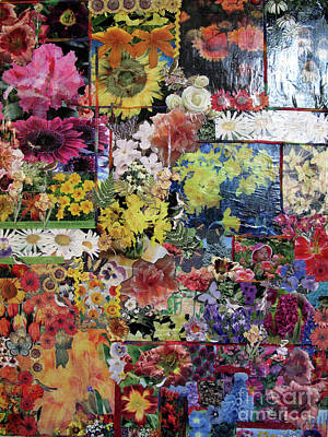 Mixed Media - My Garden by Sandy McIntire
