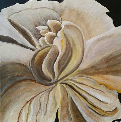 Painting - My Gardenia  by Carol Duarte