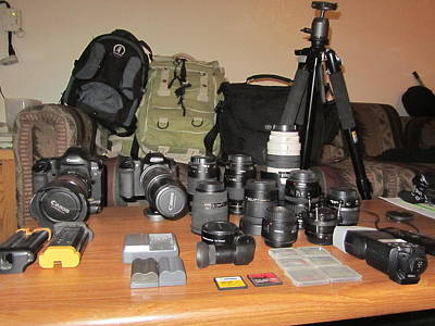 Photograph - My Gear by Ted Petrovits III