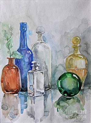 Painting - My Glass Collection IIi by Nedko  Nedkov