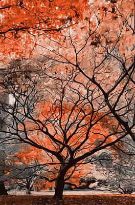 Painting - My Golden Autumn  by Andrea Mazzocchetti