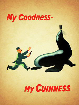Food And Beverages Photograph - My Goodness My Guinness 1 by Mark Rogan