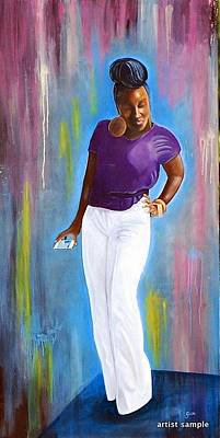 Painting - My Goodness Strike A Pose by Gwendolyn Frazier