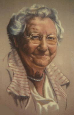 Pastel - My Gramma by Barbara Keith