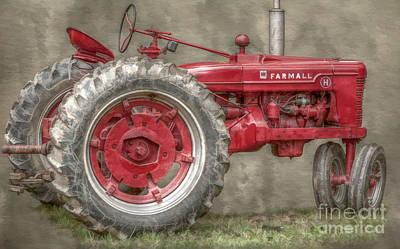My Grandfathers Tractor Art Print by Randy Steele