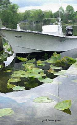 Painting - My Grandson's Boat by Marian Palucci-Lonzetta