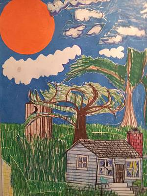 My Great Great Grandmother's House Original by William Douglas