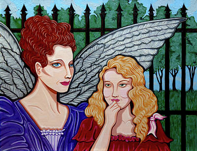 Painting - My Guardian Angel by Tara Hutton