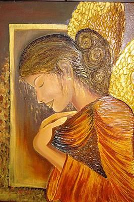 My Guardian Angel Art Print by Xafira Mendonsa