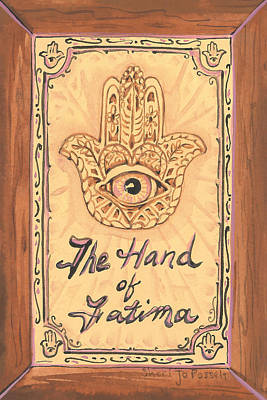 Painting - My Hand Of Fatima by Sheri Jo Posselt