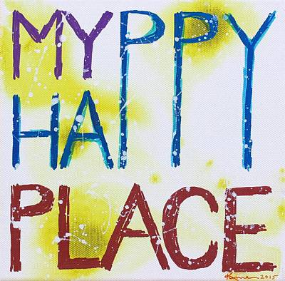 Painting - My Happy Place by Kume Bryant
