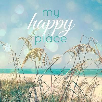 My Happy Place Art Print by Valerie Reeves