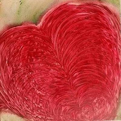 Painting - My Heart by Kathryn Rone