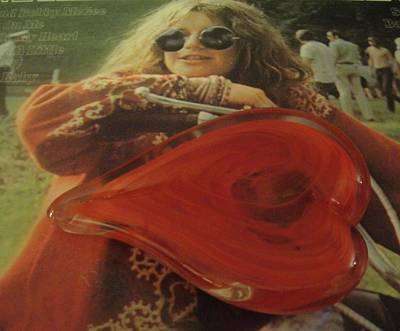 My Heart Loves Janis Joplin Art Print