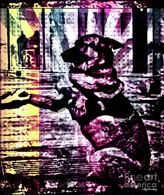 Dog Rescue Digital Art - My Hero My Friend Thank You For Your Service by Art by MyChicC