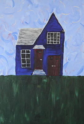 My House Art Print by Tracy Fetter