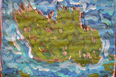 Painting - My Island by Vikram Singh