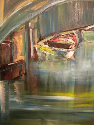 Marine Art Painting - My Italy by Jill Morris