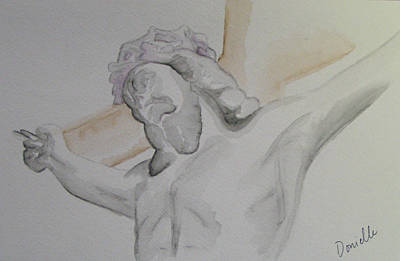 My Jesus Art Print by Donielle Boal
