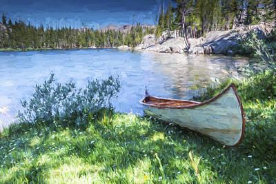 Water Vessels Digital Art - My Journey II by Jon Glaser